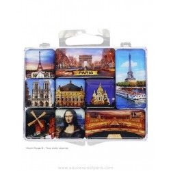 Box of mini-magnets Monuments of Paris