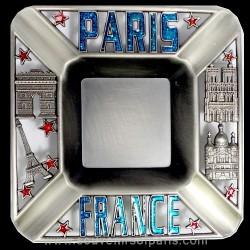 Squared ashtray Paris