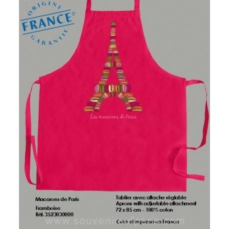 Macaroons of Paris rose Apron