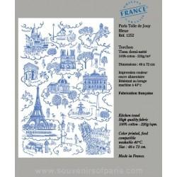 Paris Jouy printing dish Towel