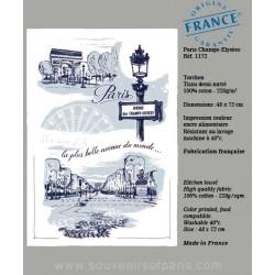 Champs Elysées dish Towel