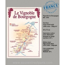 Vineyard of Bordeaux dish Towel