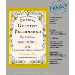 Chateau Guittot Dish towel