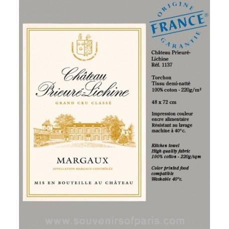 Château Prieuré-Lichine Margaux Dish towel