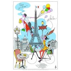 La Parisienne Dish Towel