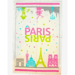 Paris Monuments Dish Towel