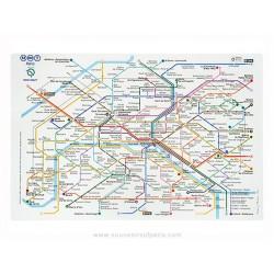 Metro plan Plastic Placemate