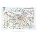 Metro plan Plastic Placemat