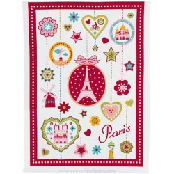 Paris Medallion Dish Towel