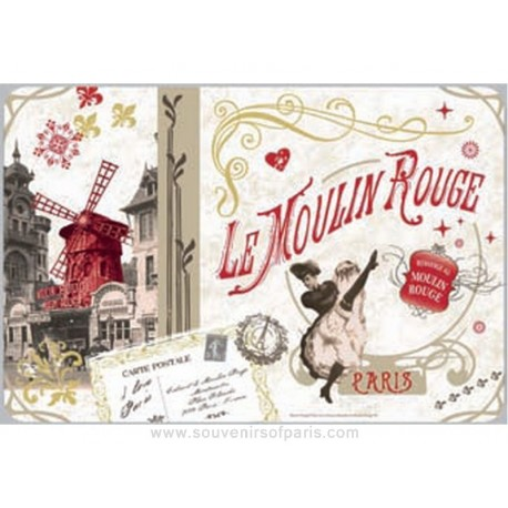 Moulin Rouge Plastic Placemate