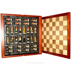 Chess game Napoleon against Wellington