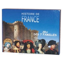 Happy Families card game - The French History