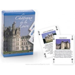"""Castles of the Loire"" Playing cards"