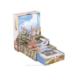 "Pop Up playing cards "" Images of Paris """