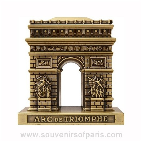Bronze Metal Arch of Triumph Replica - Small
