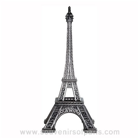Old Silver Finish Eiffel Tower Replica - Size 3