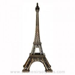 Bronze Metal Eiffel Tower Replica - Size 1