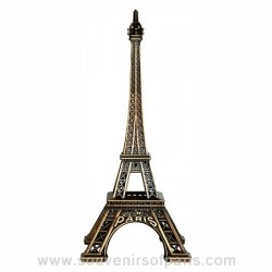 "Bronze Eiffel Tower 6.69"" (17 cm) - Made in France"