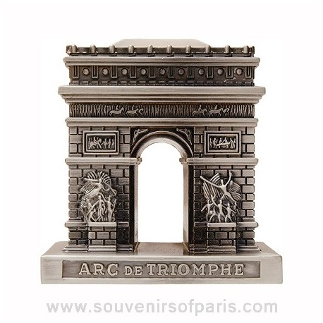 Old Silver Finish Arch of Triumph Replica - Small
