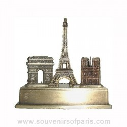 Three monuments Small Bronze Metal