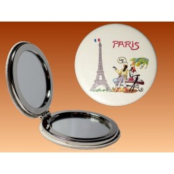 Mirror Eiffel Tower conversation - Round