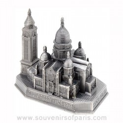 Old Silver Finish Sacre Coeur Miniature - Large