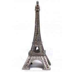 "Old Silver Eiffel Tower - Size 1 - 2"" (5 cm)"