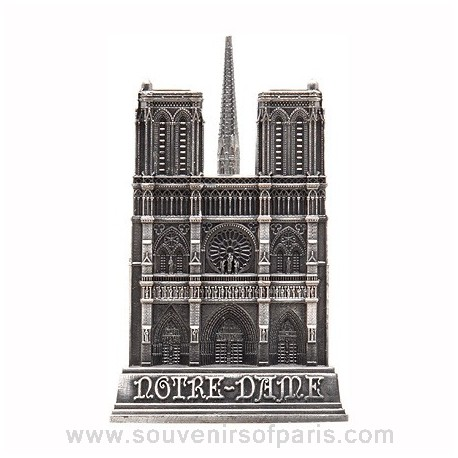 Old Silver Finish Notre Dame Miniature - Large