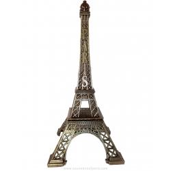 "Bronze Eiffel Tower - Size 7 - 15"" (38 cm)"