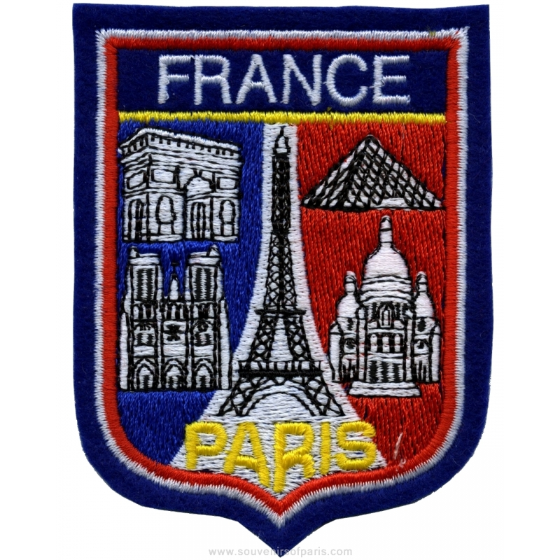 Badge Eiffel Tower