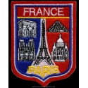 Badge France - Monuments of Paris