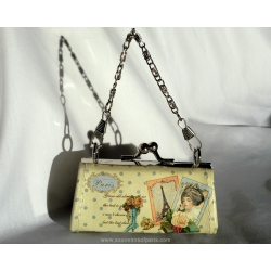 Clap wallet Vintage Paris