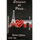 Eiffel Tower diamonds Pin