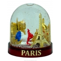 Snow globe French Rooster (Big) - Made in France