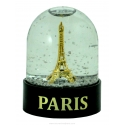 Snow globe French Eiffel Tower (little) - Made in France