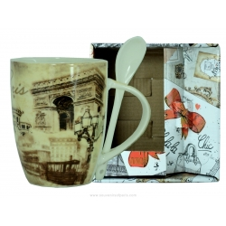 "Mug ""Downtown"" Beige"