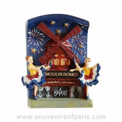 Moulin Rouge French Cancan Magnet