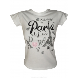 T-shirt I visited Paris