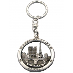 Paris Buoy Key Chain