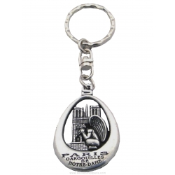 Tryptich Key Chain