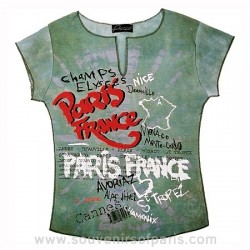 T-Shirt Cities of France