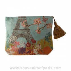 """""""Paris Tokyo"""" French Tapestry Purse"""