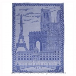 Paris Monuments Tea Towel
