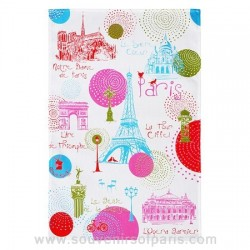"Paris ""Circles"" Dish Towel"