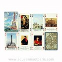 Paris As Seen By Painters Playing Cards
