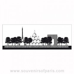 Paris Panoramic Wallcovering