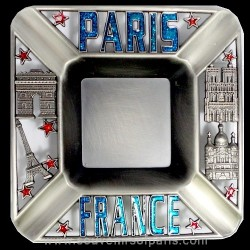 Squared ashtray Paris