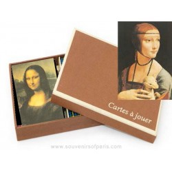 """Leonardo Da Vinci"" playing cards deluxe edition"