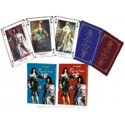 Kings of France Playing Cards