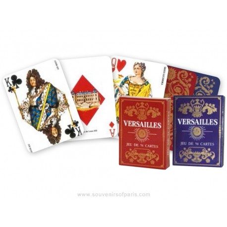 """""""Versailles"""" Playing cards"""